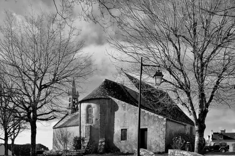 Photo de la chapelle de St cado